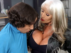 Bad To The Granny Bone With Sally D'Angelo And Ricky Spanish – Brazzers Exxtra HD