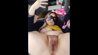 Horny Wife Fuck Machine Sexy Moaning, Real Orgasm And Contractions