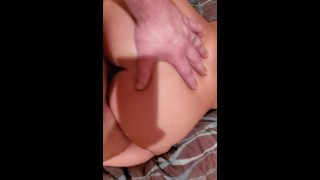 Sidechick Takes It In Ass In Restroom At Work
