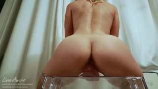 Young College With Perfect Body Ride A Big Dildo And Cum-Advent Calendar 5