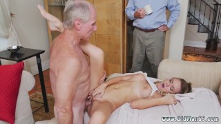 Old Horny Man Fucks Teen Girl And Old Cock Young Pussy Molly Earns Her