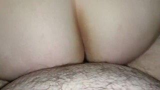 First Time My Husband Filmed Me Fucking Him In Reverse Cowgirl