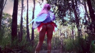 SecretCrushTeaser – Sexy Cute Fairy POV Anal Fucked In Public Forest!
