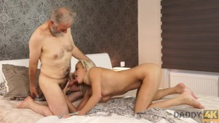 DADDY4K. Old Man Is Very Gentle With His Sons Sweet Ria Sunn
