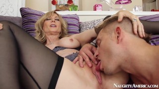 Naughty America – Find Your Fantasy Nina Hartley Fucking In The Living Room