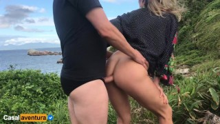 Anal On Paradise Island – We Got Caught! Real Amateur