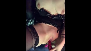 Part 2.horny Mom Fuck Her Wet Pussy With Toy In My Truck.