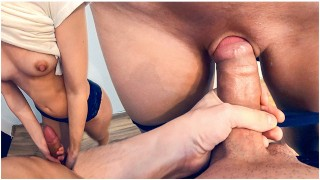 Stepbrother Cum In My Panties And Pull Them Up Before Bedtime 4K