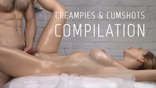 COMPILATION Of Creampies And Cumshots Vol. 4