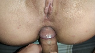Amateur Girlfriend Agree To Try Anal First TIME ! Beautiful Big Ass !