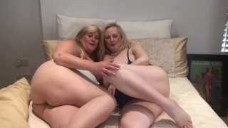 Anna And Cath ~ British Busty Babes In Bed