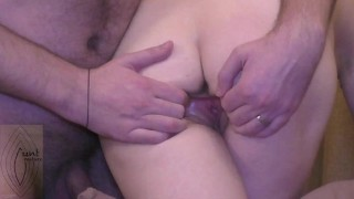 Collared Wife Cums Two Times Crossed Legs
